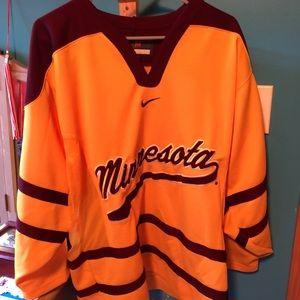 Unisex Minnesota Golden Gophers Nike Hockey Jersey